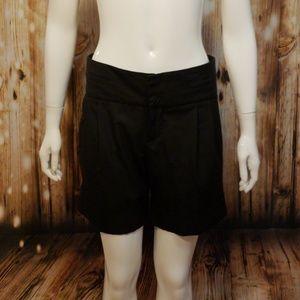 Zara Woman high waisted pleated dress shorts